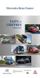 Faits et Chiffres Mercedes-Benz France au 31/12/2011