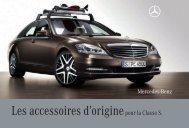 Les accessoires d'originepour la Classe S. - Mercedes-Benz France