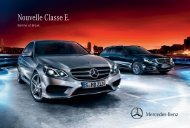 La brochure (pdf) - Mercedes-Benz France