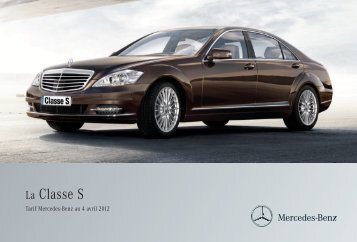 09 - S_Tarifs - Mercedes-Benz France