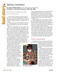 Talking Cosmetics – November 2008 - Professional Savvy, LLC
