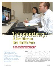Teledentistry: A New View on Oral Health Care - Professional Savvy ...