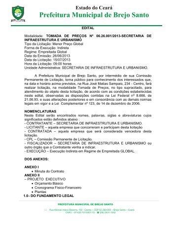EDITAL DE LICITAÇÃO - TCM-CE