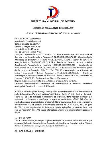 edital e anexos - TCM-CE