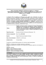 EDITAL DO PREGÃO - N - TCM-CE