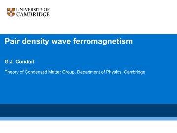 ϵk - Theory of Condensed Matter