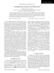 Ferromagnetic spin correlations in a few-fermion system