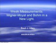 Weak Measurements: