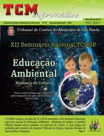 Nov/Dez - Tribunal de Contas do Município de São Paulo