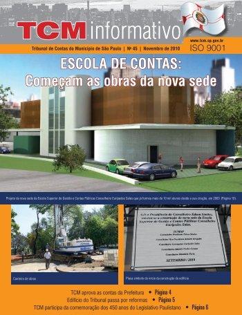 TCM Informativo - Tribunal de Contas do Município de São Paulo