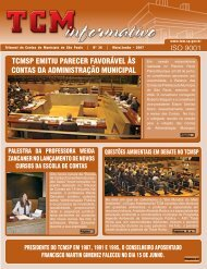 Mai/Jun - Tribunal de Contas do Município de São Paulo