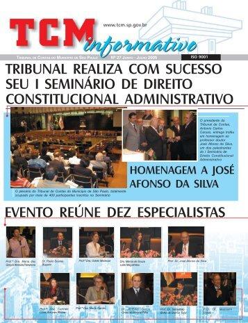 Jun/Jul - Tribunal de Contas do Município de São Paulo