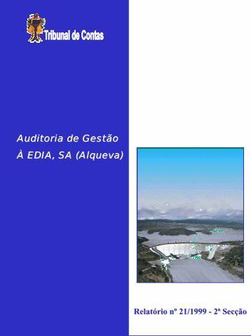 Relatório de Auditoria nº 21/1999 - Tribunal de Contas