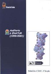 Relatório de Auditoria nº 52/2003 - 2ª Secção - Tribunal de Contas