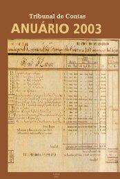 Anuário 2003 do Tribunal de Contas