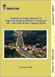Relatório nº 49/2003 - 2ª Secção - Tribunal de Contas