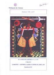 Relatório de Auditoria nº 42/2003 - 2ª Secção - Tribunal de Contas