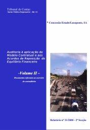 -Volume II – - Tribunal de Contas