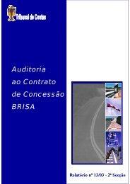 Relatório de Auditoria nº 13/2003 - 2ª Secção - Tribunal de Contas
