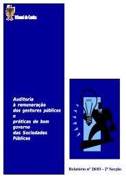 Relatório de Auditoria nº 28/2003 - 2ª Secção - Tribunal de Contas