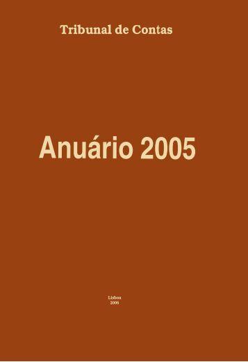 Anuário 2005 - Tribunal de Contas