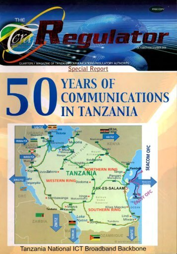 YEARS OF COMMUNICATIONS IN TANZANIA — -