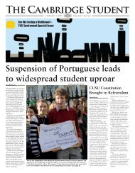 Lent Issue 3 2007 - The Cambridge Student