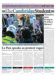 Le Pen speaks as protest rages - The Cambridge Student ...