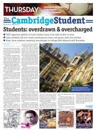 Michaelmas Issue 9 2008 - The Cambridge Student