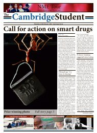 Call for action on smart drugs - The Cambridge Student - University ...