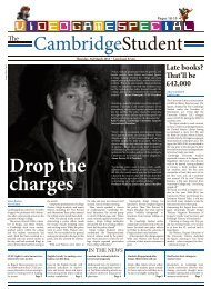 and see Centre Pages - The Cambridge Student - University of ...