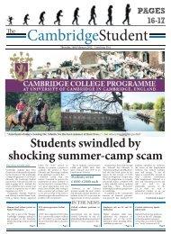 Download - The Cambridge Student - University of Cambridge