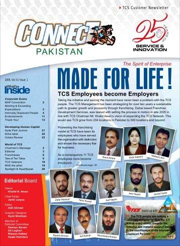 PAKISTAN - TCS Courier