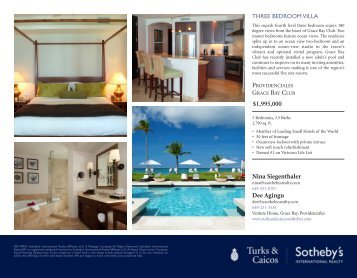 1995000 - Turks & Caicos Sotheby's International Realty