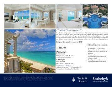 Dee Agingu - Turks & Caicos Sotheby's International Realty