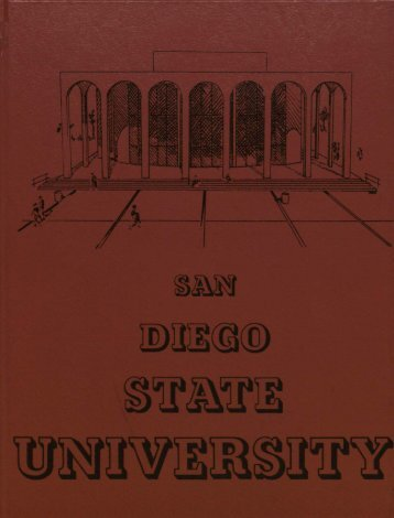 """San Diego State University 'Reflections' 1980"" PDF - SDSU"