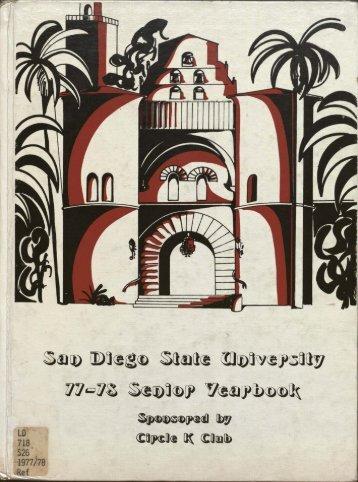 """San Diego State University Senior Yearbook"" PDF - Library - San ..."