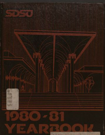 """San Diego State University 'Horizons' 1981"" PDF - Library"