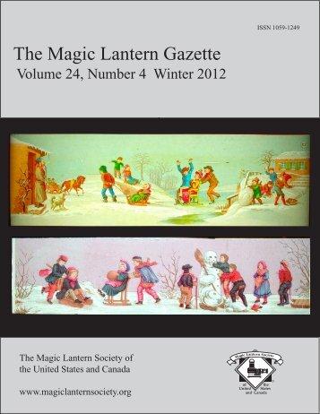 The Magic Lantern Gazette - Library - San Diego State University