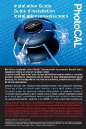 Installation Guide Guide d'installation ... - Datacolor