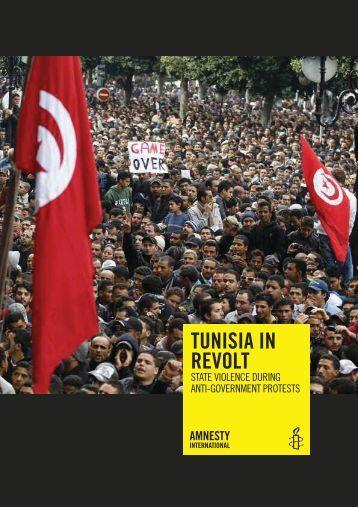 TUNISIA IN REVOLT