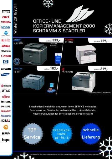 TOP Service - Office- und Kopiermanagement 2000