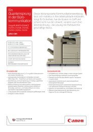 Datenblatt - Office- und Kopiermanagement 2000