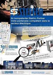 Ihr kompetenter Elektro-Partner Votre partenaire compétent ... - Steffen