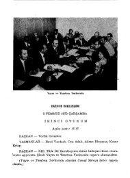 İKİNCİ BİRLEŞİM - Türk Dil Kurumu Kütüphanesi
