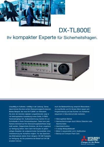 210x297 DX-TL800E