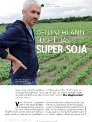 Deutschland sucht das Super-Soja - jens lubbadeh