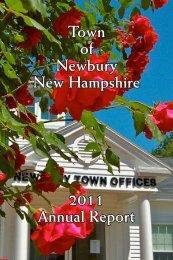 2011 Annual Report Town of Newbury New Hampshire