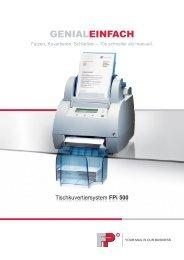 Prospekt FPi 500 - Okapost GmbH
