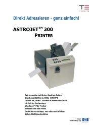 ASTROJET 300 P - TE Postline
